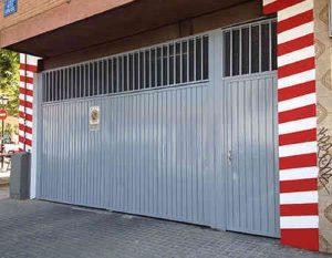 Pintura de garajes en Vitoria.